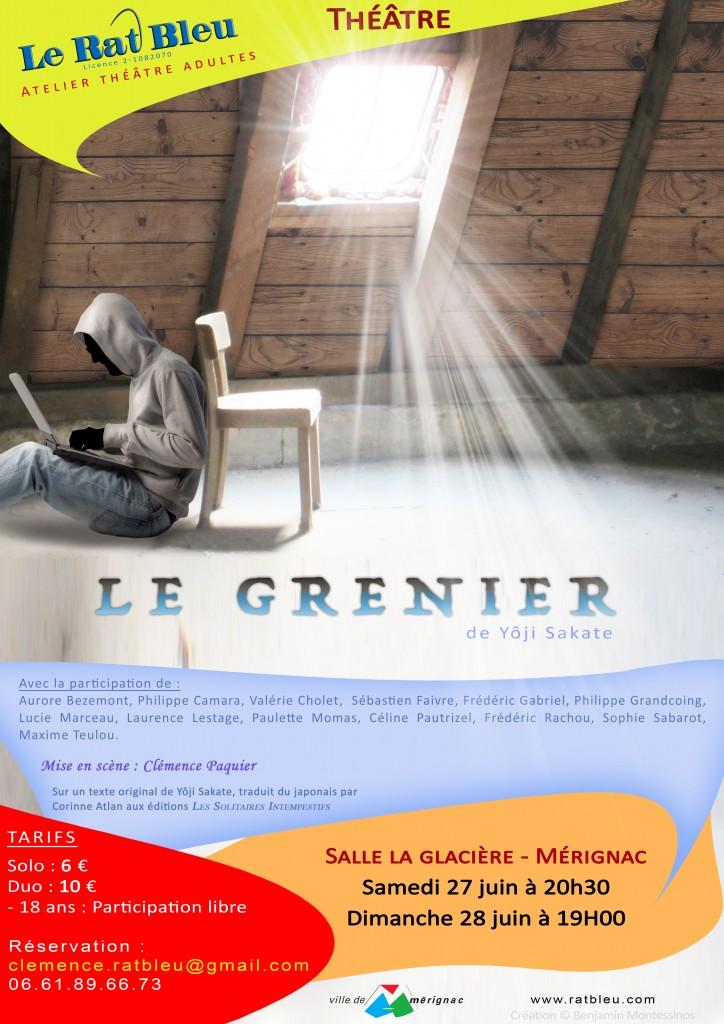 Affiche le Grenier-v1-A3